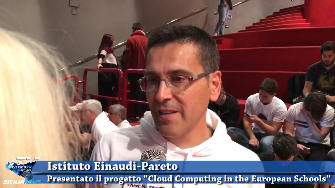 """Istituto Einaudi-Pareto: presentato il progetto """"Cloud Computing in the European Schools"""""""