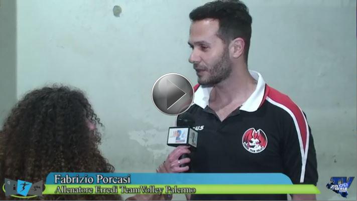 Promozione Erredi TeamVolley Palermo. Le interviste