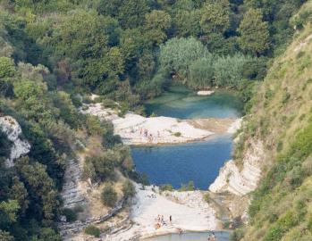 La riserva di Cava Grande del Cassibile