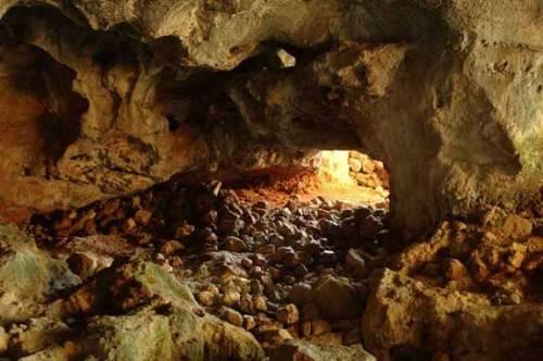 La grotta di Carburangeli