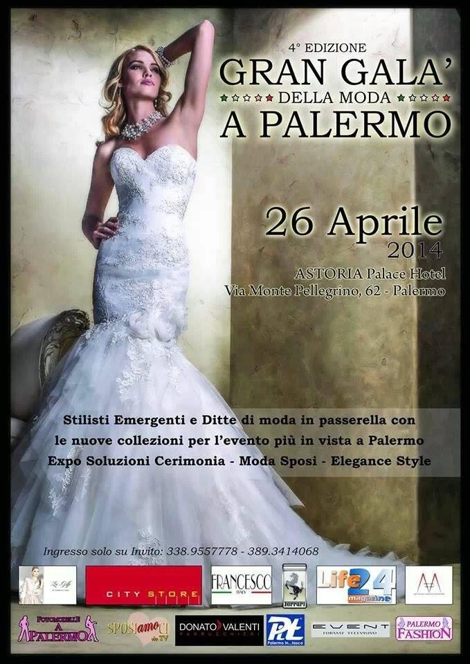 Palermo: 4° edizione del Gran Galà della moda