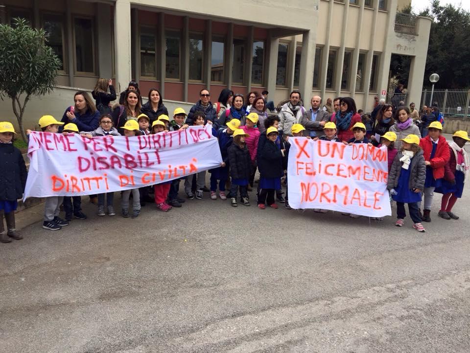 """Aquila Palermo """"Insieme ai bambini diversabili di Bagheria"""""""