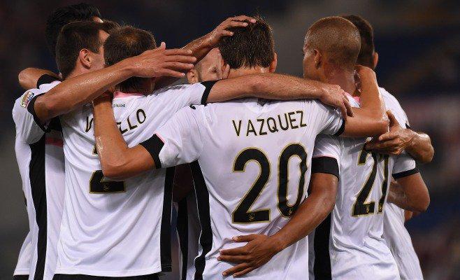 Vazquez-Belotti, la coppia del futuro regala una vittoria di prestigio a Roma: il Palermo chiude 11°