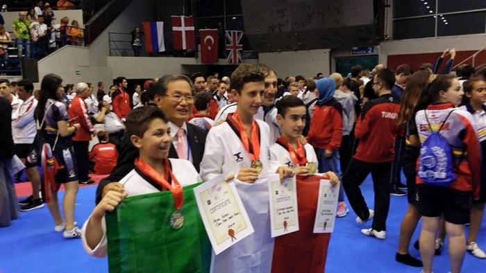 Taekwondo, Michelangelo Sampognaro si riconferma Campione Europeo 2015