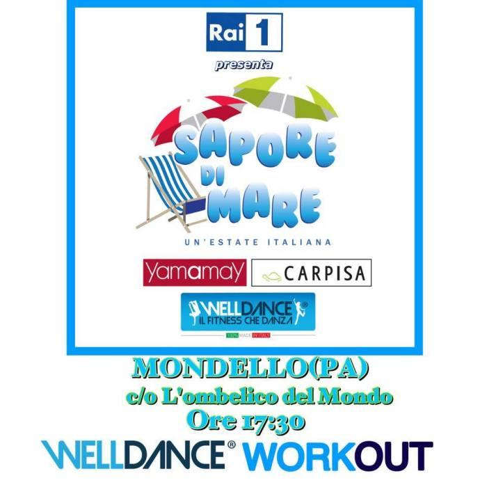 WellDance a Mondello… Una delle tappe Rai, sponsor Yamamay e Carpisa