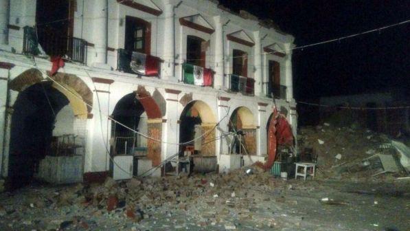 Messico, fortissimo terremoto nella capitale Città del Messico