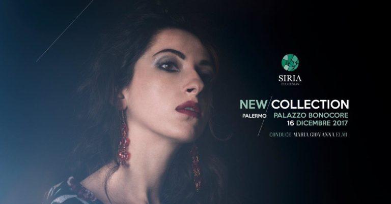 Maria Giovanna Elmi, madrina della sfilata di Siria Eco Design e Joseph Cuomo a Palazzo Bonocore