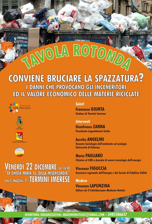 Emergenza ambientale rifiuti, le strategie da adottare a beneficio dell'economia siciliana