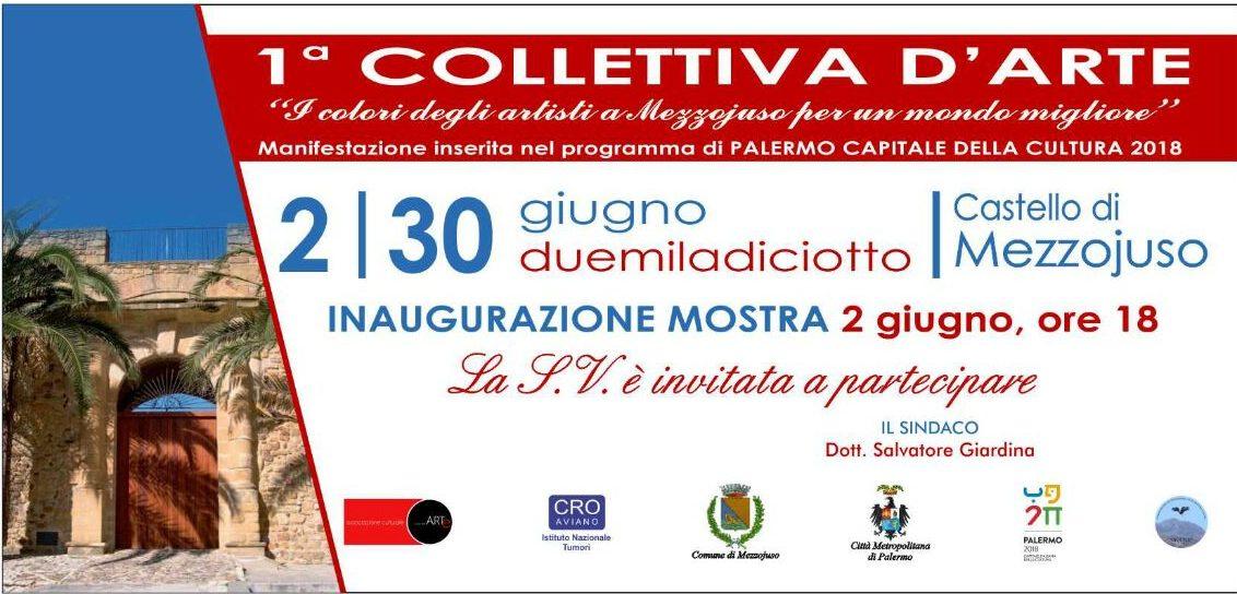 """Festa della Repubblica """"I colori degli artisti a Mezzojuso per un mondo migliore"""""""