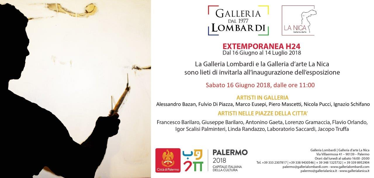 Extemporanea H24: a Palermo 16 pittori dipingeranno dal vivo