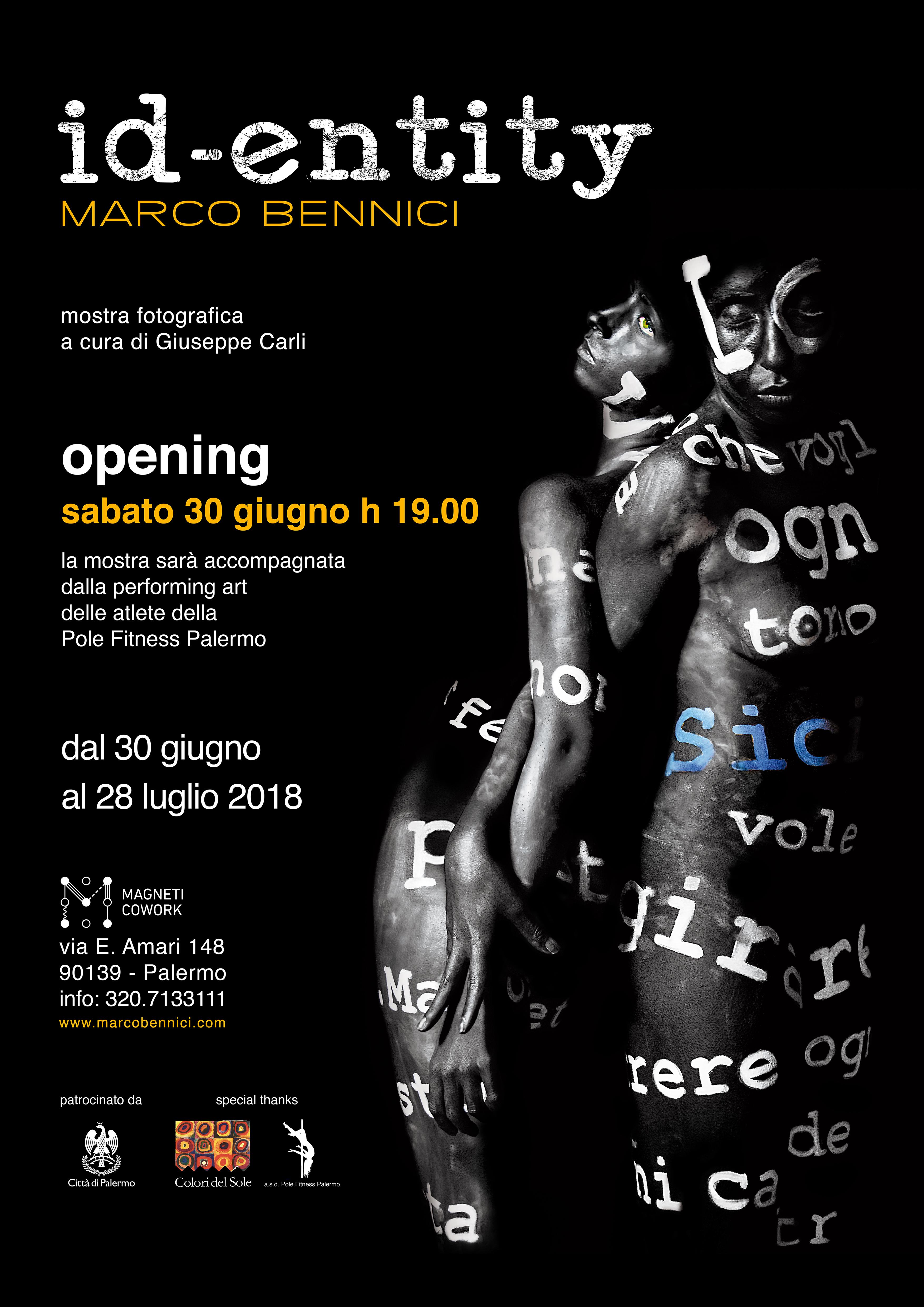 """FOTOGRAFIA: """"ID – ENTITY"""" emozione e identità della Sicilia al Magneti Cowork"""