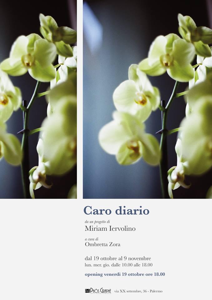"""""""Caro diario"""", di Miriam Iervolino, la nuova mostra fotografica al Phòs Graphè"""