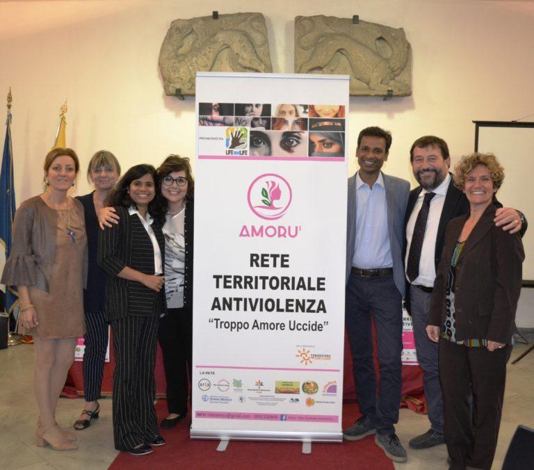 """È nata """"Amorù"""", nuova rete antiviolenza per i comuni della provincia di Palermo, promossa dalla LIFE AND LIFE e sostenuta da FONDAZIONE CON IL SUD"""
