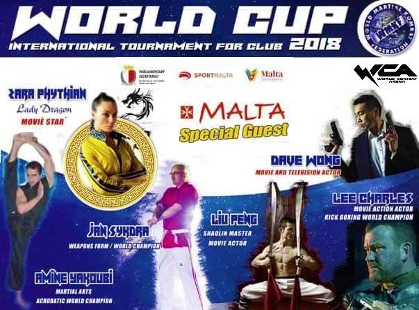 World Cup 2018, cinquantadue atleti siciliani a Malta   per un evento internazionale dedicato alle arti marziali