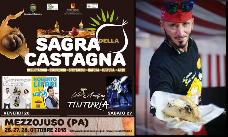 Sagra della Castagna a Mezzojuso,   Nino 'U Ballerino tra i protagonisti della tre giorni