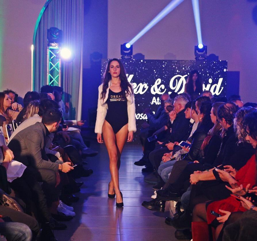 "Alessandra Zerbo della ""Vanity Models Management"" approda al ""Volkswagen International Fashion Week"" di Milano"