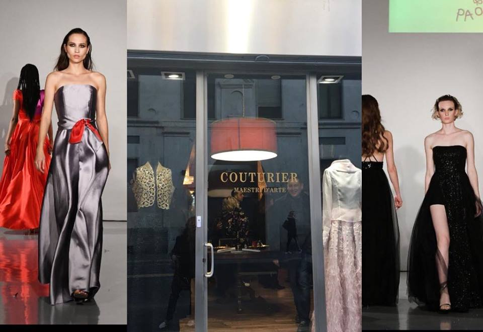 Nel salotto della moda sensoriale gli abiti della stilista  Paola Filippone