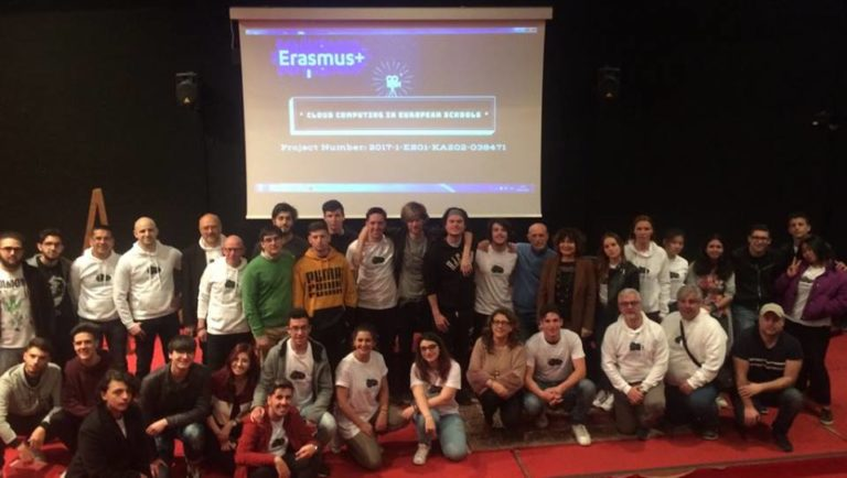 "Istituto Einaudi-Pareto: presentato il progetto ""Cloud Computing in the European  Schools"""