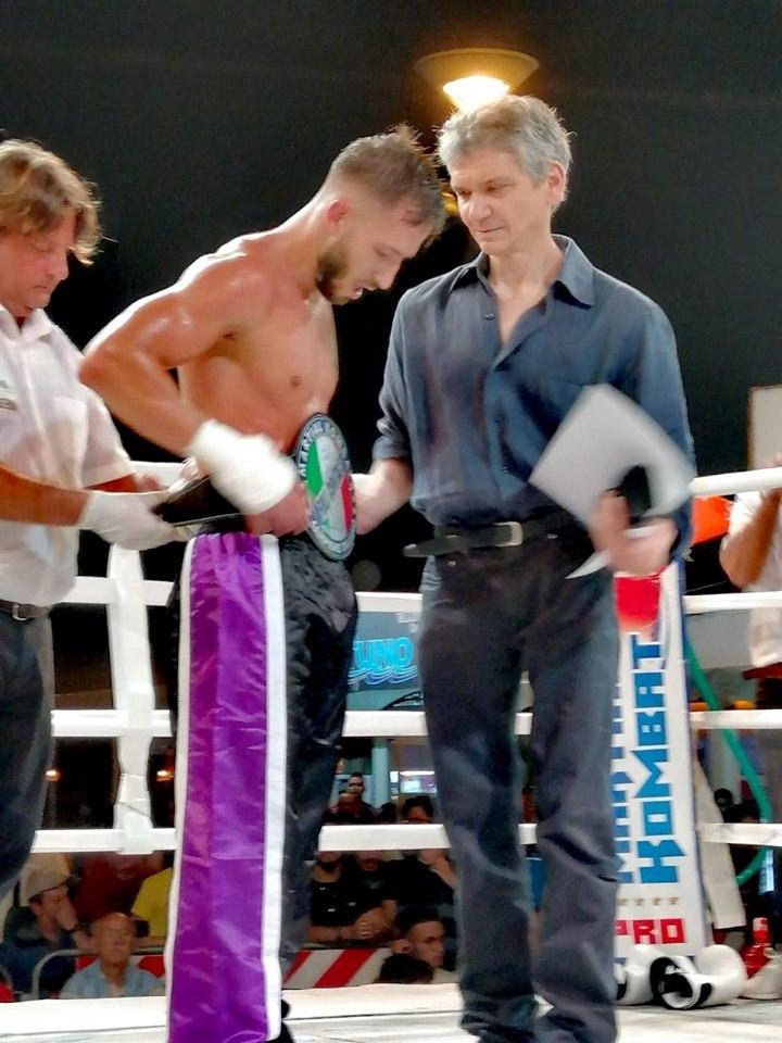 Evento internazionale di kickboxing WMKF, Samuel Moreno e Gaspare Madone si aggiudicano i titoli  di campione europeo e italiano