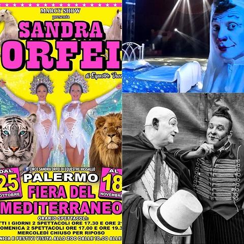 """A Palermo la prima nazionale """"Il Sogno del Clown"""" del Circo Sandra Orfei"""
