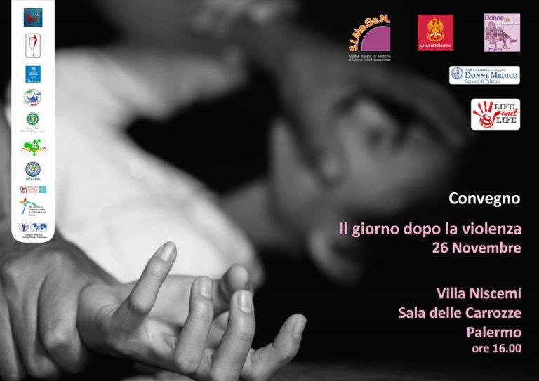 A Villa Niscemi, martedì 26 novembre, storie ed esperienze di donne che raccontano violenze e maltrattamenti