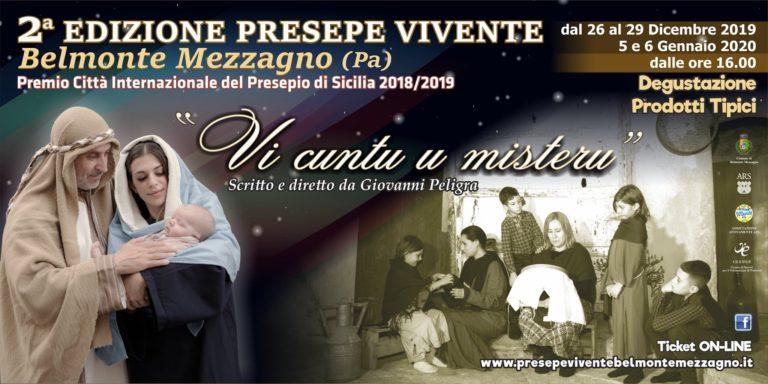 """Vi Cuntu u misteru"", la seconda edizione del Presepe Vivente di Belmonte Mezzagno promette grandi sorprese"
