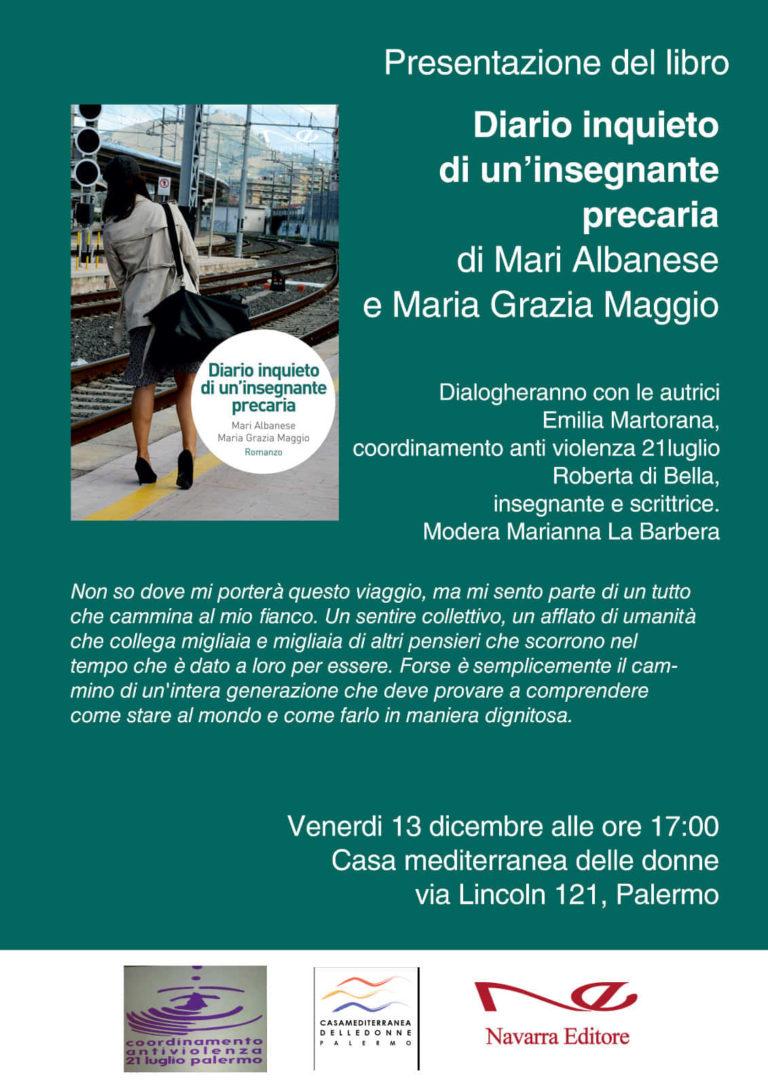 Il mondo della scuola nel libro  di Mari Albanese e Maria Grazia Maggio a cura di Navarra Editore