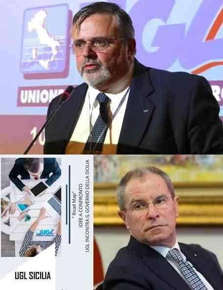 """Oggi a Palermo il Segretario Generale dell'UGL Capone per """"Road Map"""""""