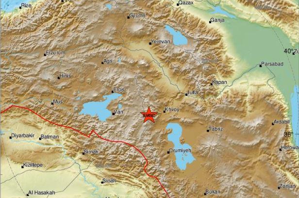Terremoto magnitudo 5.7 in Iran, 7 morti in Turchia