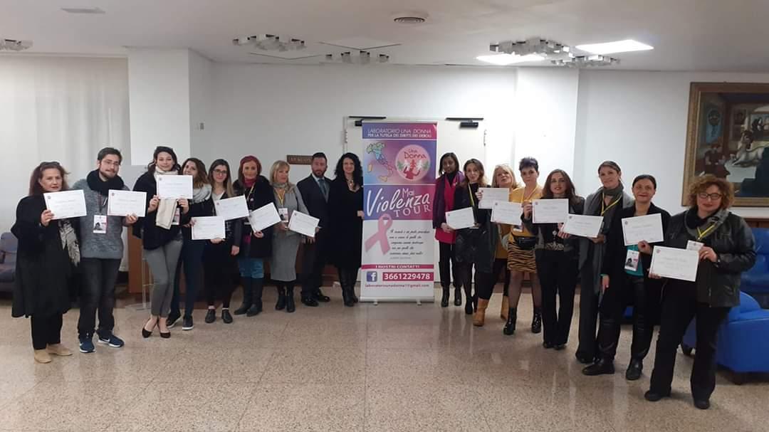 Palermo. Si sono formati quindici nuovi operatori a supporto delle donne vittime di violenza