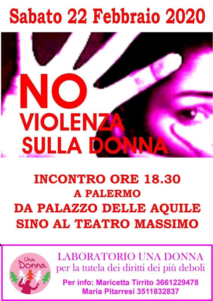 Palermo. Appuntamento nel centro storico per dire no alla violenza sulle donne