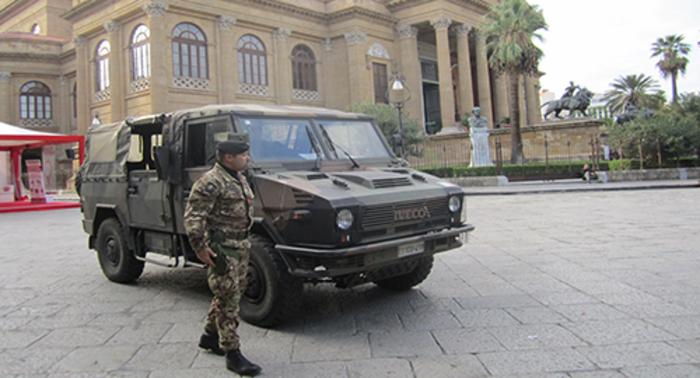 Coronavirus: esercito in campo a Palermo