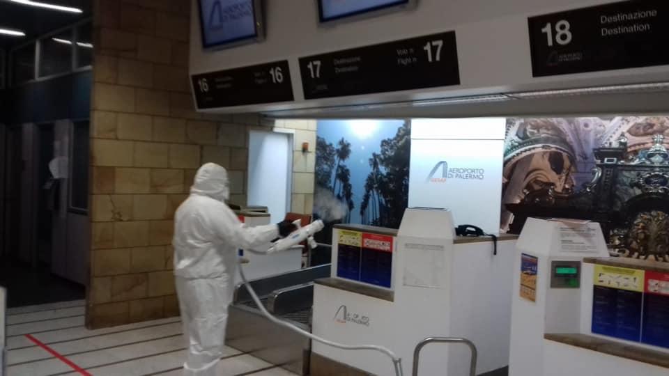 Aeroporto Palermo, passeggeri e voli in calo di oltre il 90 per cento
