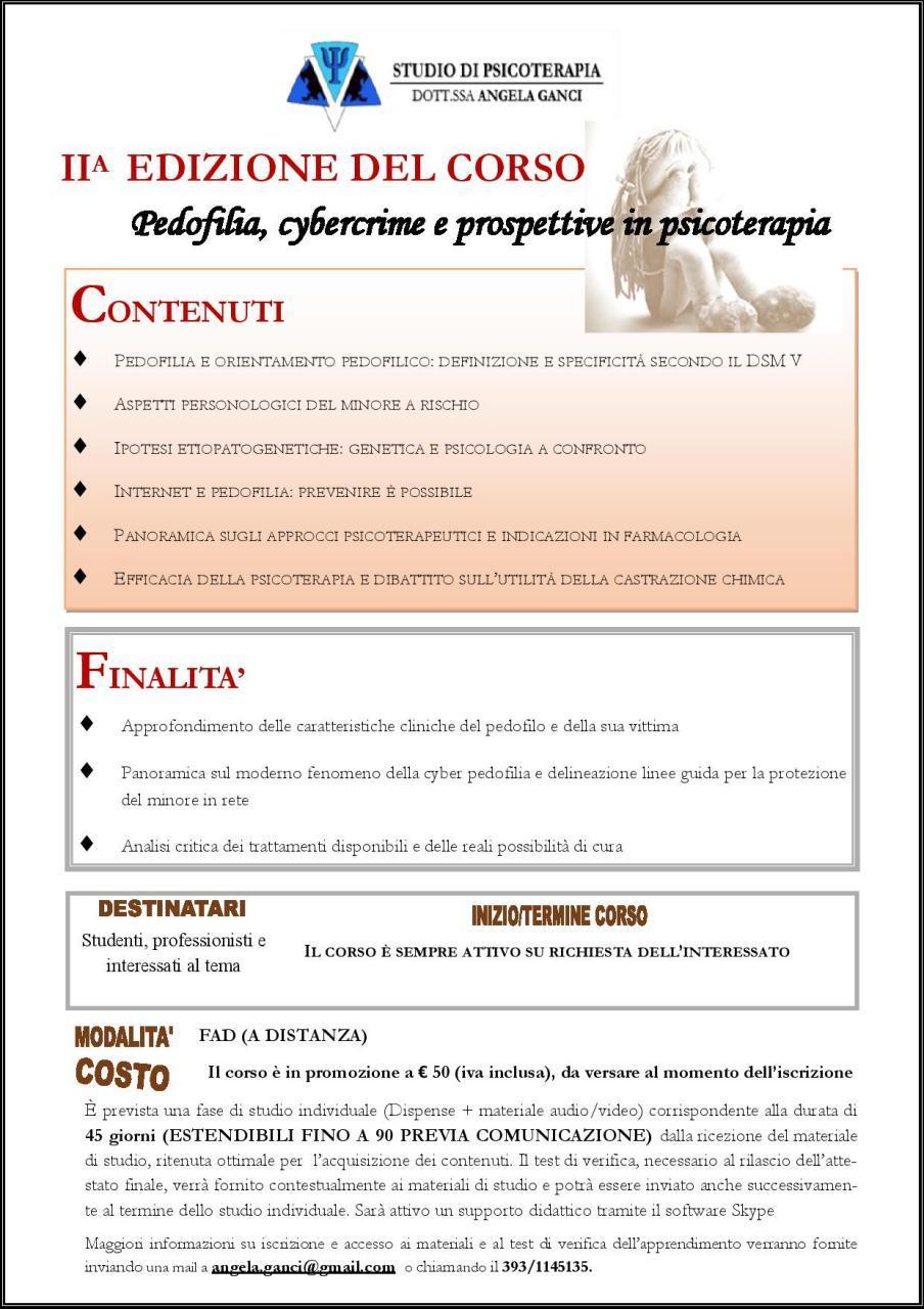 Palermo. Materie psicologico-educative: formazione a distanza ai tempi del Covid 19