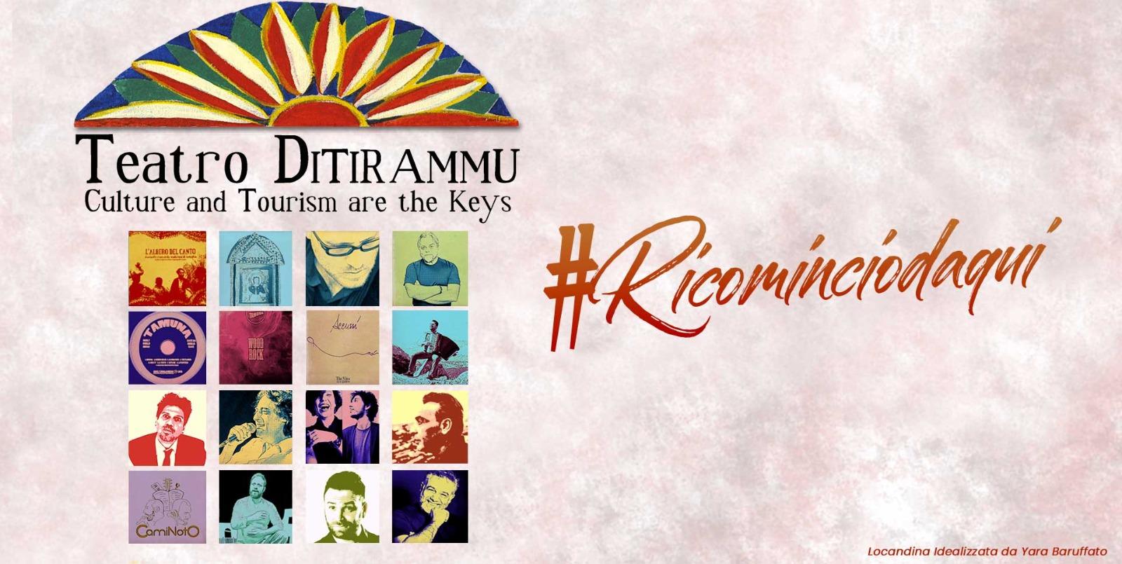Teatro. Presentata rassegna estiva #Ricominciodaqui del Ditirammu