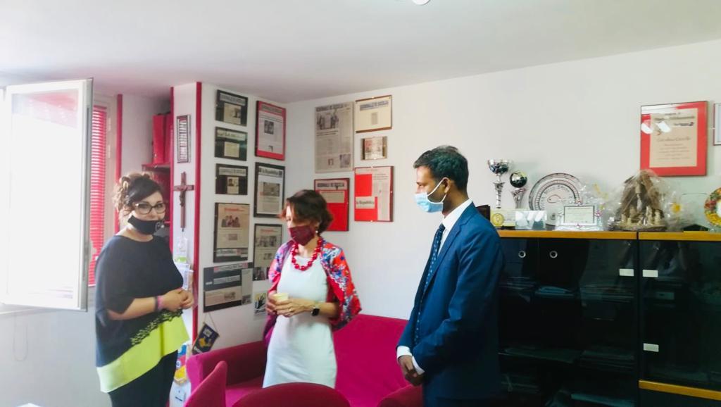 La Ministra per le Pari Opportunità, Elena Bonetti, incontra l'organizzazione umanitaria LIFE and LIFE e alcune donne vittime di violenza