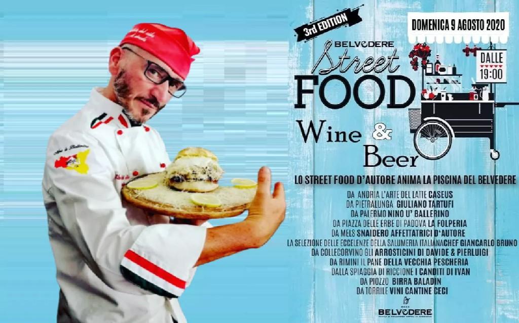 """""""Belvedere"""" di Riccione, tutto pronto per la III edizione di """"Street food Wine & Beer"""""""