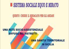 Il 29 ottobre a Palermo manifestazione unitaria  dei pensionati siciliani davanti agli assessorati regionali alla Famiglia e alla Salute