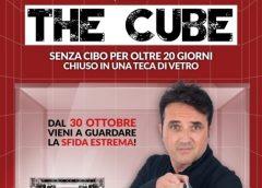 """""""The Cube"""", la sfida da guiness di Christian Carapezza a Palermo"""